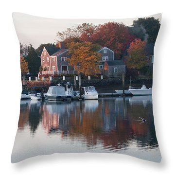 Portsmorth Morning Throw Pillow