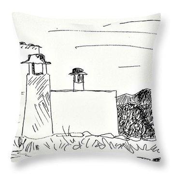 Portugos Throw Pillow
