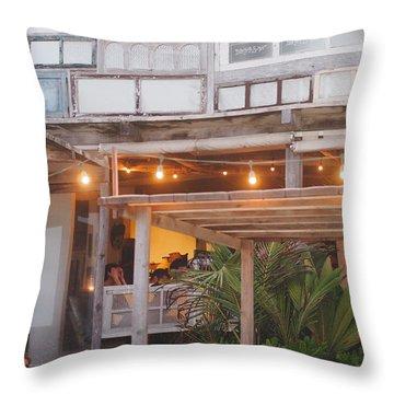 Posada Margherita Tulum Throw Pillow