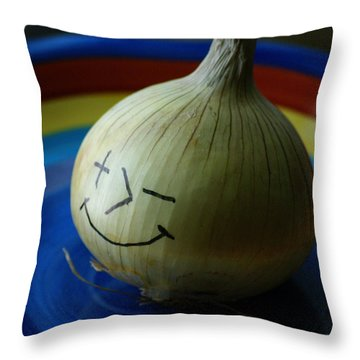 Posimoto Throw Pillow