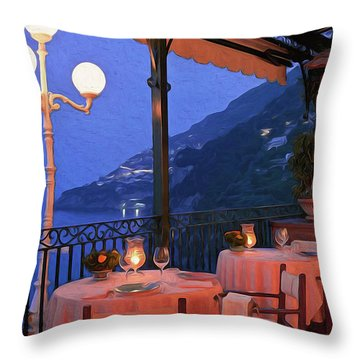 Positano, Beauty Of Italy - 05 Throw Pillow