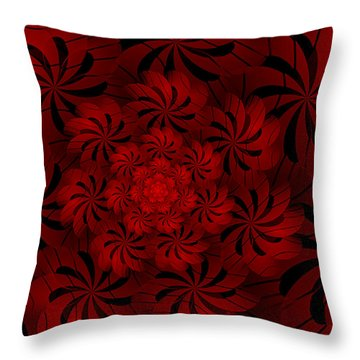 Positively Red Throw Pillow