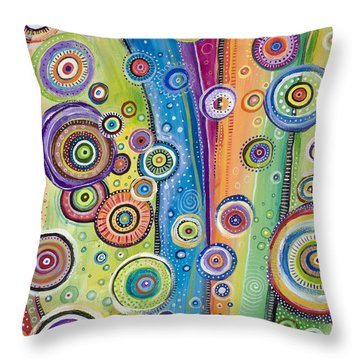 Possibilities Throw Pillow by Tanielle Childers