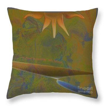 Pure Possibility Throw Pillow