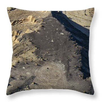 Throw Pillow featuring the photograph Possible Archeological Site by Jim Thompson