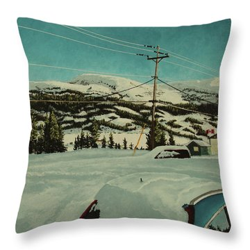 Post Hill Throw Pillow