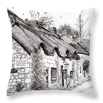 Post Office And Museum Throw Pillow