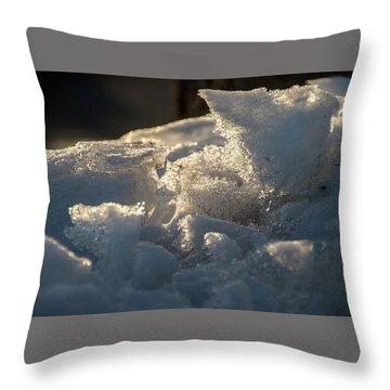 Post Plow - Throw Pillow