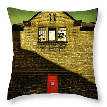 Postal Service Throw Pillow by Mal Bray