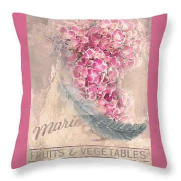 Poster Revelation Throw Pillow by Jeff Burgess