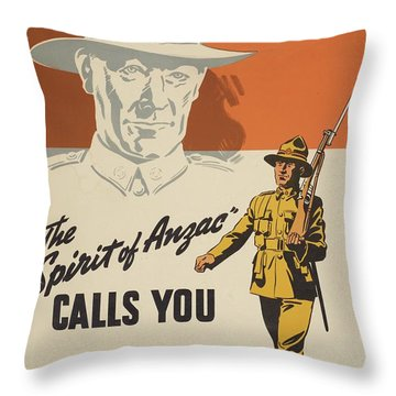 Department Of The Army Throw Pillows