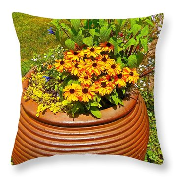 Pot O' Gold Throw Pillow