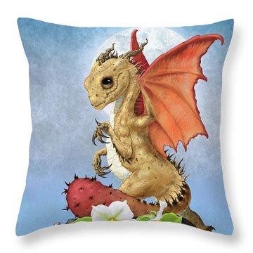 Potato Dragon Throw Pillow