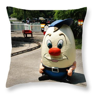 Potato Head Throw Pillow
