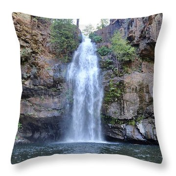 Potem Falls Throw Pillow