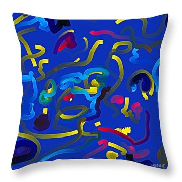 Potential Throw Pillow by Robert Henne