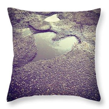 Pothole Love Throw Pillow