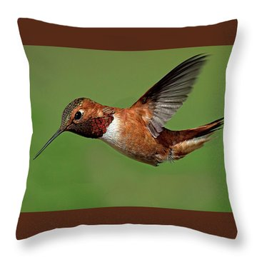 Potrait Throw Pillow