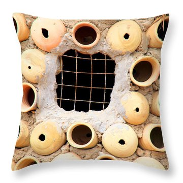 Potted View Throw Pillow
