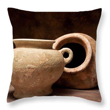 Pottery II Throw Pillow