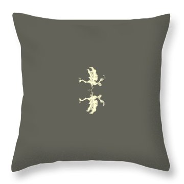 Poulia Throw Pillow by Julio Lopez
