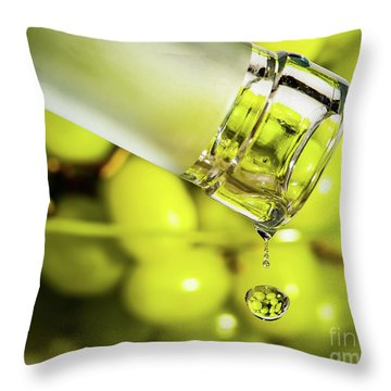 Pour Me Some Vino Throw Pillow