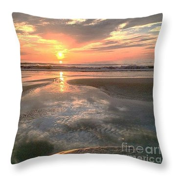 Pouring Out Throw Pillow