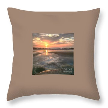 Throw Pillow featuring the photograph Pouring Out by LeeAnn Kendall