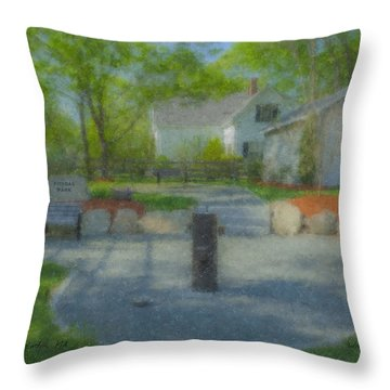 Povoas Park Throw Pillow