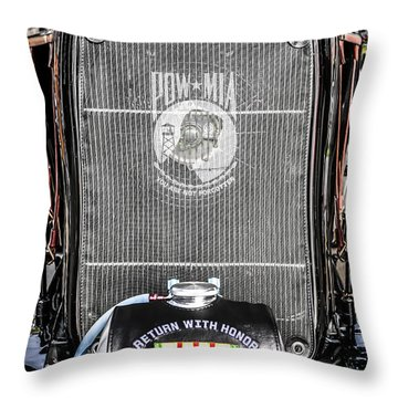 Pow-mia Ford Throw Pillow