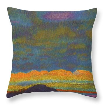 Powder River Reverie, 1 Throw Pillow
