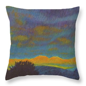 Powder River Reverie, 2 Throw Pillow