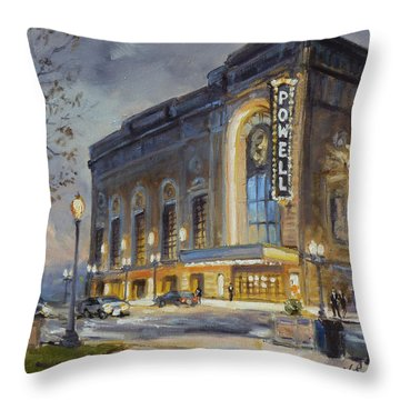 Powell Symphony Hall In Saint Louis Throw Pillow