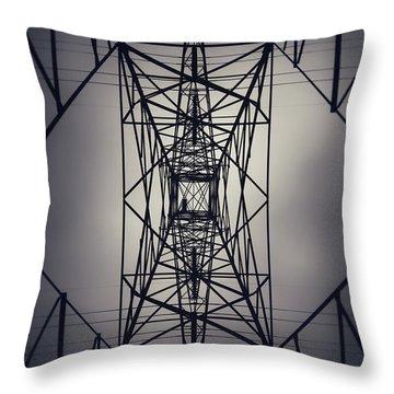 Power Above Throw Pillow