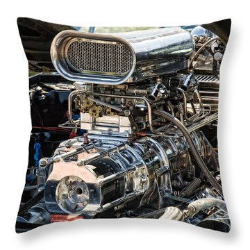 Power And Beauty Throw Pillow by Edward Sobuta