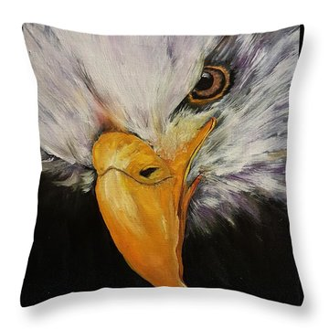 Power And Strength    64 Throw Pillow