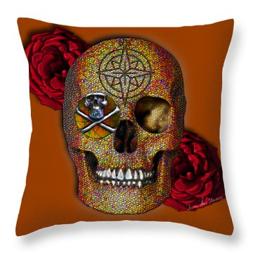 Power And Wisdom Throw Pillow