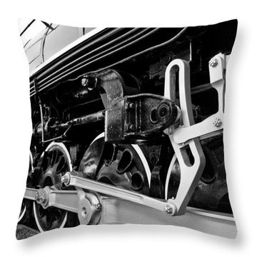 Power In The Age Of Steam Throw Pillow by Dan Dooley