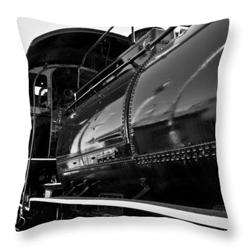 Power In The Age Of Steam 5 Throw Pillow by Dan Dooley