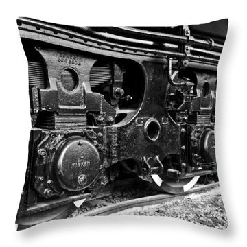 Power In The Age Of Steam 6 Throw Pillow by Dan Dooley