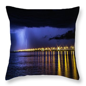 Power Of God Throw Pillow