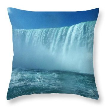 Power Of Water Throw Pillow