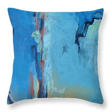 Power Released Throw Pillow