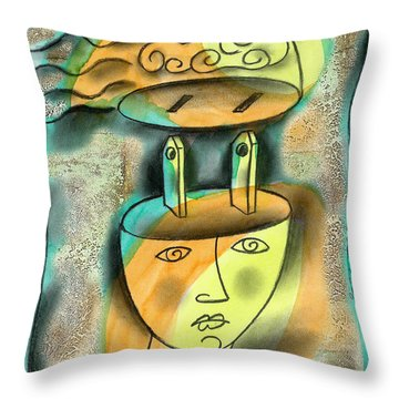 Powerful Thinking Throw Pillow