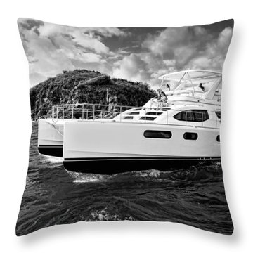 Powering Throw Pillow