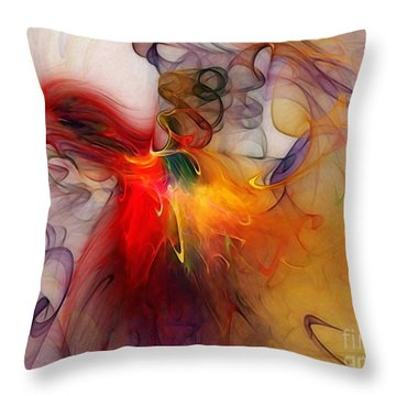 Powers Of Expression Throw Pillow