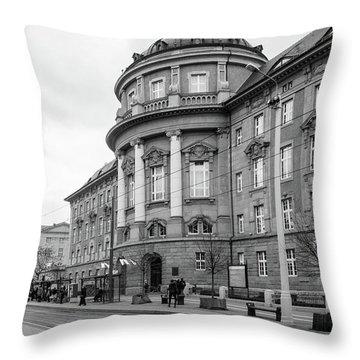 Poznan University Of Medical Sciences Throw Pillow
