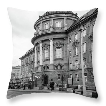 Poznan University Of Medical Sciences Throw Pillow