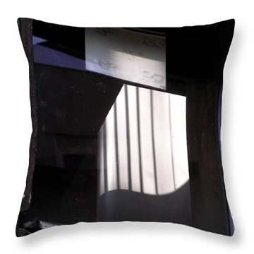 Poznanwindow Throw Pillow
