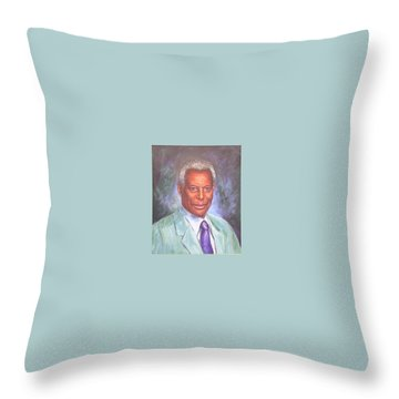 Pr. Daffa Jammo Throw Pillow